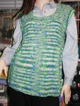 Modell des Monats Juli 2014 - Sommerliche Tunika aus Lana Grossa Flu