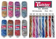 Twister Curly 8 color