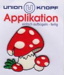 Union Knopf - Fliegenpilze