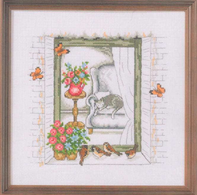 Permin Frühlingsfenster 92-9176