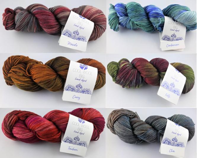 Lana Grossa Cool Wool Big Hand-dyed