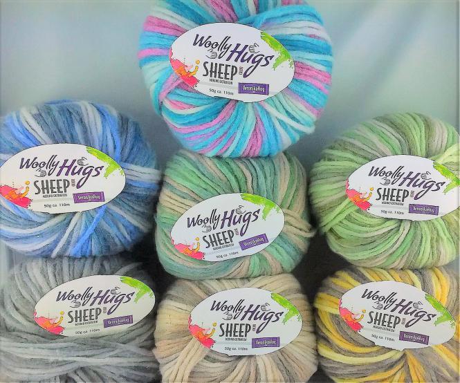 Wolly Hugs - Sheep color