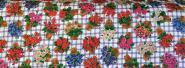 Baumwollstoff (auch für Masken geeignet) - 100% Baumwolle - Blumen